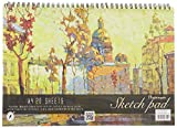 #8: Nightingale Premium Sketch Pad Spiral - B Design, A4, 40 Pages