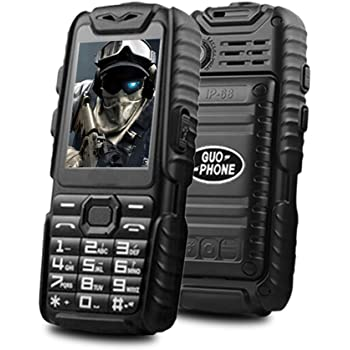 Téléphone Portable Senior Débloqué - Guophone A6 Grosses Touches Dual Sim  2.4
