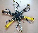 XINTE Hex -Rotor Hexacopter RTF W / F550 FlameWheel Kit + KK 2.3 Controller + ESC Motor Weld & debug Batterie TX RX Pros