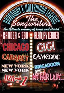 Broadway & Hollywood Legends: Songwriters - Alan [DVD] [2005] [Region 1] [US Import] [NTSC]
