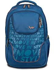 Skybags 32 Ltrs Teal Laptop Backpack (BPVAD2TEL)