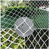 JHKJ 50 Mm Meshses | Architecture Sicherheitsnetz 4 M X 21 M, Absturzsicherungsnetz, Tiergehege, Gartenzaun