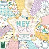 Prima edizione FSC Hey Baby, 30,5x 30,5cm, carta, multicolore