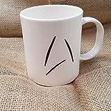 Qkdangds Custom Tasse basierend auf Captain Kirk 's Becher in Star Trek Außerhalb New Starfleet Logo