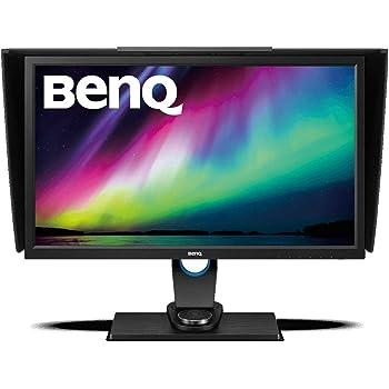 """BenQ SW2700PT , Monitor para fotógrafos (27"""" 2K QHD, 2560x1440. 99 % Adobe, con tecnología IPS, calibración del color del hardware,ajuste en altura, controlador OSD, DVI-DL/HDMI 1.4/DP1.2), color Negro"""