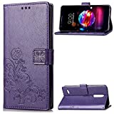 LAGUI Case Suitable for LG K8 2018 / LG K9, Nicely Embossed