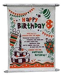 Birthday Scroll Card