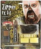 Deluxe Horror Halloween Makeup Werewolf FX Zipper Kit Accessory