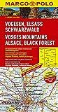 MARCO POLO Karte Vogesen, Elsass, Schwarzwald 1:200.000 (MARCO POLO Karte 1:200000)