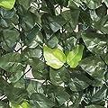 Woodside - Sichtschutzhecke aus künstlichen Efeublättern - für Gartenzäune & Mauern von Woodside - Gartenmöbel von Du und Dein Garten
