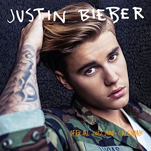 Justin Bieber Official 2017 Mini Wall Calendar