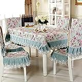 Sillas De Juegos Best Deals - paño/ mantel de jardín/Juego de sillas de comedor cojín/mantel/Cojín/ mantel/Set de cubre sillas manteles-H 130x180cm(51x71inch)