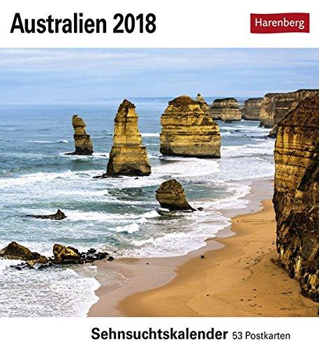 Australien - Kalender 2018: Sehnsuchtskalender, 53 Postkarten