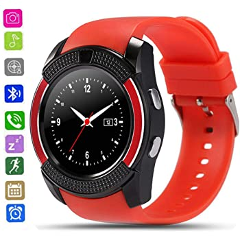 CatShin Smartwatch Android-Reloj Inteligente Mujer Hombre CS05 con Ranura para Tarjeta SIM/TF