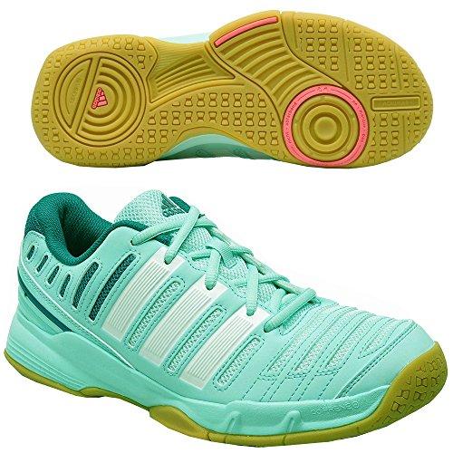 adidas Damen Handballschuhe essence 11 46 frost mint f14/core white/power tea...