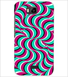 HUAWEI HONOR BEE ILLUSSION Designer Back Cover Case By PRINTSWAG