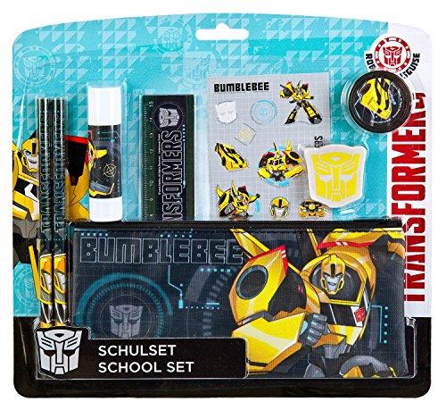Undercover TFUV7293 Kindergartentasche, Transformers, ca. 21 x 22 x 8 cm Schulset, 8 teilig