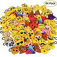 Aiduy Emoji Keyrings, 2