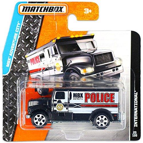 MATCHBOX MBX ADVENTURE CITY INTERNATIONAL 20/120 (MBX DISTRICT 6 POLICE) by Matchbox