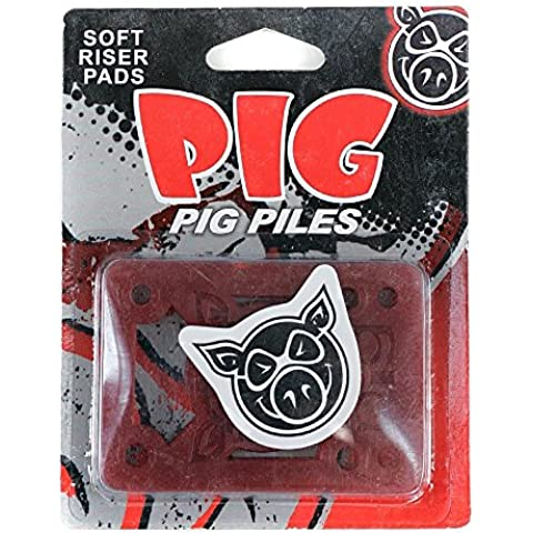 PIG Pile Skateboard Risers morbido Shock Pads