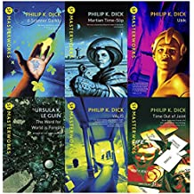 Philip K. Dick S.F. MASTERWORKS Collection 6 Books Set (A Scanner Darkly, Martian Time-Slip, Ubik, The Word for World is Forest, Valis, Time Out Of Joint)