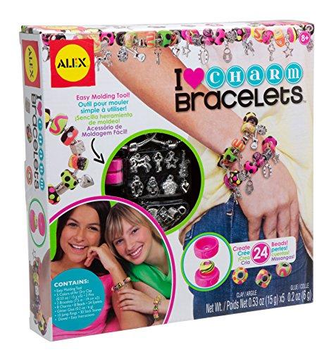 ALEX Toys Do-It-Yourself Wear Heart Charm Bracelets Kit