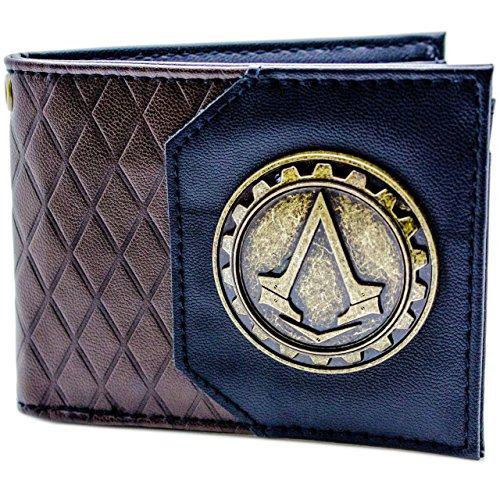 Ubisoft Assassins Creed Syndicate Cog Marrone portafoglio