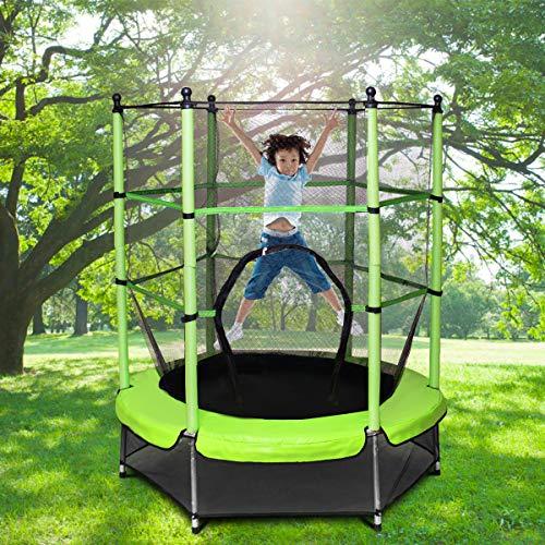 Zoom IMG-2 goplus trampolino elastico da giardino