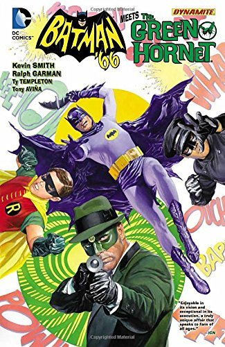 Batman '66/Green Hornet HC by Ralph Garman (Artist) › Visit Amazon's Ralph Garman Page search results for this author Ralph Garman (Artist), Ty Templeton (Artist), Kevin Smith (7-Apr-2015) Hardcover