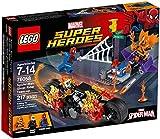 LEGO 76058 Super Heroes Spider-Man Ghost Rider Team-up Construction Set