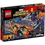 Lego Super Heroes- Marvel - 76058 - Spider-man - L'équipe De Ghost Rider
