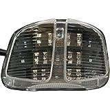 LED-R/ücklicht klar f/ür Suzuki GSX-R 600//750 2006-2007 e-gepr/üft