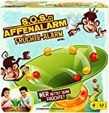 Mattel Games GDJ90 - S.O.S. Affenalarm Früchte-Alarm, Kinderspiele und Familienspiele für 2-4 Spieler, Spiele ab 5 Jahren