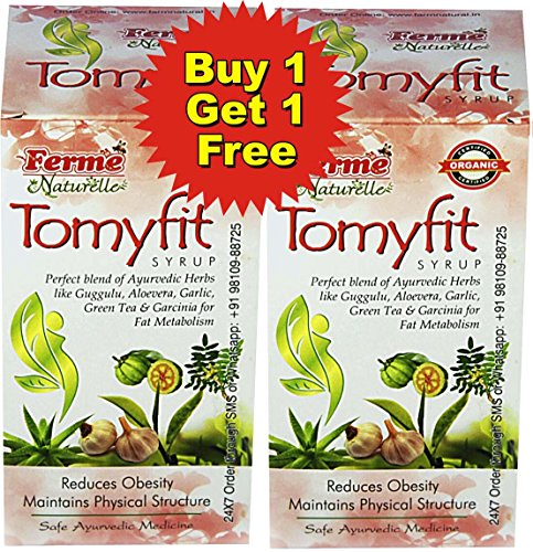 2 Slim Juice-The Finest 800 ml (2x400ML) Slim Slimming Tonic Obesity Reduction Fat Loss / Burner Tomyfit Herbal Juice (Save Rs.600 (Rs.60 on Del & Rs.540 on Juice) MRP Rs.1080 for 2 packs(1 PLUS 1 FREE OFFER) Also buy Dr.Honey for quick results  available at amazon for Rs.540