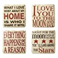 Heaven Sends Happy Sayings Coasters (Set of Four)