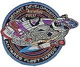 Star Trek Antares Fleet Defiant bunt bestickt abzeichen Patch Aufnäher oder 12,75cm Bügelbild