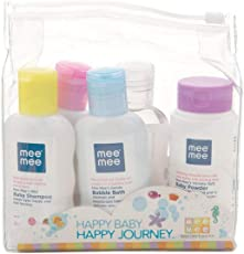 Mee Mee Baby Care Travel Kit (Pack of 5)