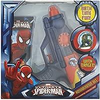 4 x SPIDERMAN Aqua Blaster Set 1Bagno&Shamp.Gel 150Ml+1Pist.Acq. - Spider Man Gift Set