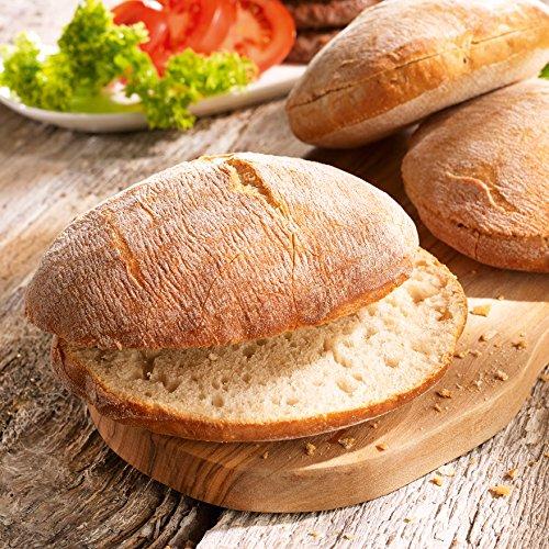 Preisvergleich Produktbild Besser Burger Brötchen; 600 g,  6 Stück