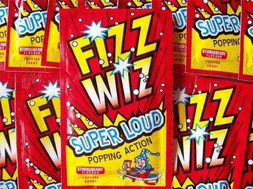 10 x Fizz Wizz Popping Candy