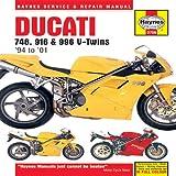 Ducati 748, 916 & 996 V-Twins 1994 to 2001 (Haynes Manuals)