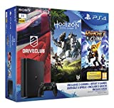 Pack PS4 1 To + Horizon Zero Dawn + Ratchet & Clank + Drive Club