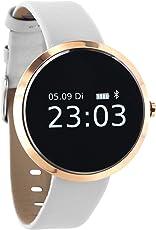 SIONA Damen Smartwatch Android und Smart Watch Damen iOS – Sportuhr Damen Smartwatch Frauen Uhr Fitness Armband Smart Watch iPhone kompatibel Smart Uhr Damen