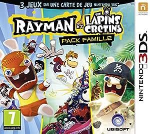 Rayman et les Lapins cretins - pack famille