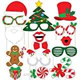 #1: Discount Retail Christmas Photo Booth Party Props - Laser Cut DIY Kit for Christmas Party