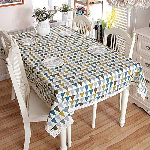 AOUP-Tischdecke, Moderne Geometrische Muster-tischdecke, Inneneinrichtung, Hotel-bankett-hochzeits-anwendung Tischdecke 140x220cm Farbe 1