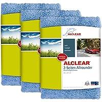 ALCLEAR 3 x panno per lucidatura, ideale per auto, yacht, lucidatrice, 40 x 40 cm, blu preiswert