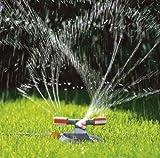 Gardena 2062-20 Kreisregner Comfort Mambo; für kleine oder große Reichweiten; Regnerfuß garantiert Standsicherheit; entnehmbares Schmutzsieb (Beregnete Fläche: 9 – 310qm; Reichweite: 3m - 20m) -