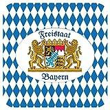 Cartingo Bierdeckel Freistaat Bayern