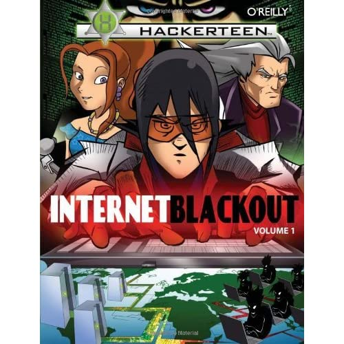 Hackerteen: Volume 1: Internet Blackout by Marcelo Marques (2008-04-21)